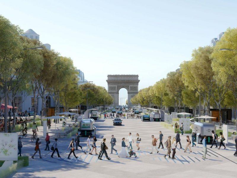Les Champs-Elysées bientôt transformés?