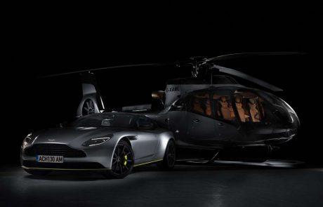 Airbus et Aston Martin dévoilent un hélicoptère!