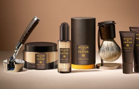 Acqua di Parma présente sa collection Barbiere