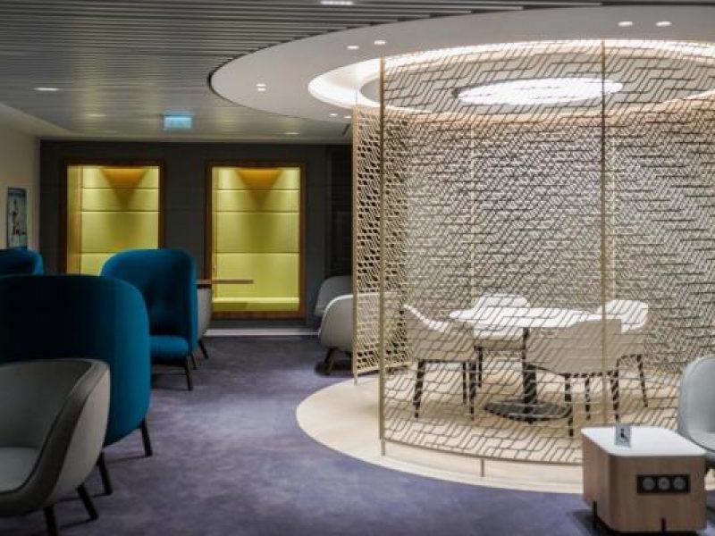 Air France inaugure son nouveau salon business