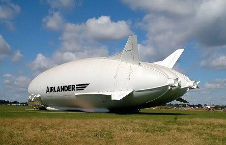 Le Airlander 10 : le luxe entre terre et ciel