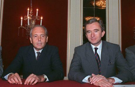 Décès d'Alain Chevalier, le co-fondateur de LVMH
