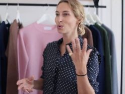 Alexandra Golovanoff s'associe à H&M pour la Fashion Week