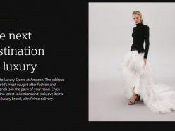 Amazon se lance dans le monde du luxe