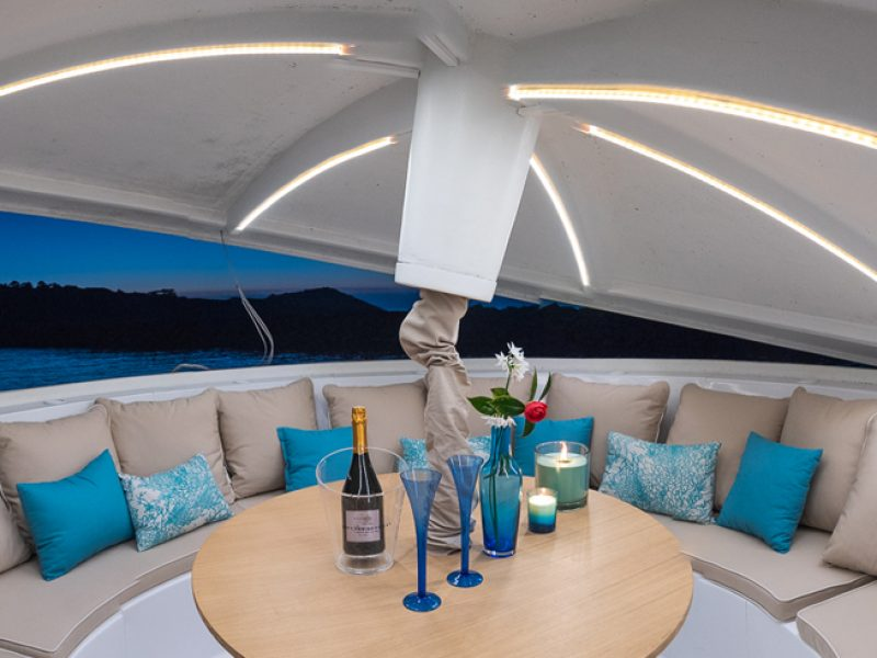 Hôtel de luxe : l'innovation de la soucoupe marine