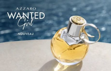 Azzaro lance son parfum Wanted Girl