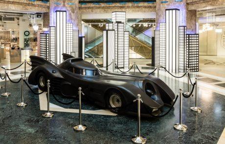 Les Galeries Lafayette célèbrent Batman