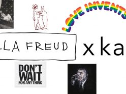 Des t-shirts caritatifs à base d'œuvres d'art pour Bella Freud
