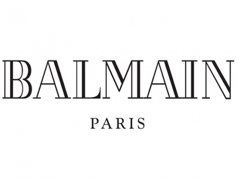 Balmain fait peau neuve avec un nouveau logo