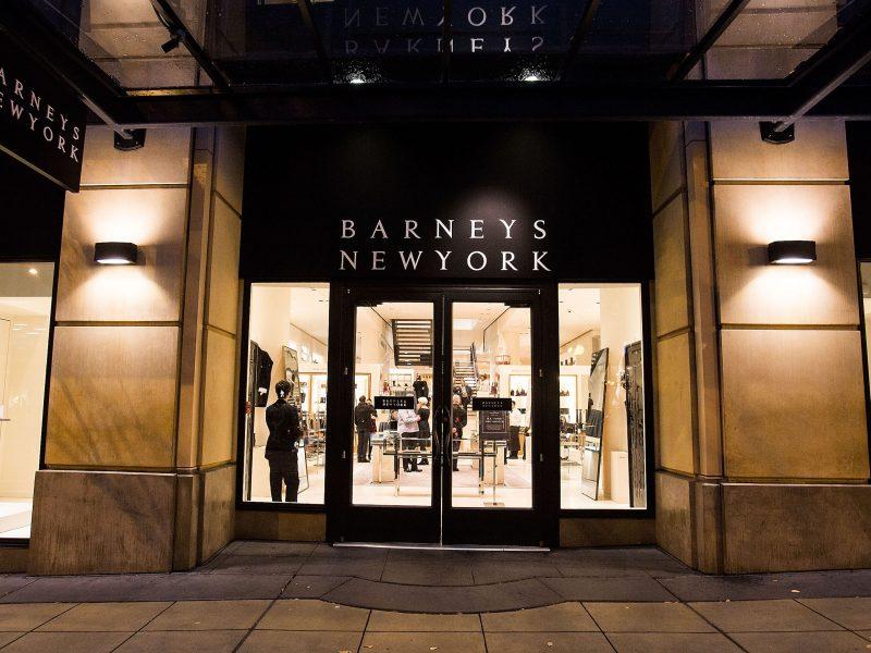 Un plan de secours pour Barney's ?