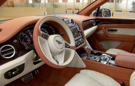 Bentley : du cuir vegan pour ses voitures du luxe