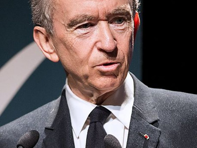 Bernard Arnault, classé second au palmarès des meilleurs garants de marque