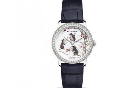 Blancpain, des montres de luxe sous le signe du rat
