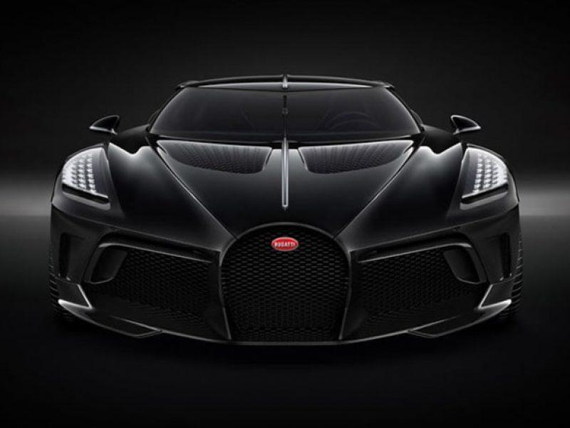 Bugatti dévoile sa Voiture Noire
