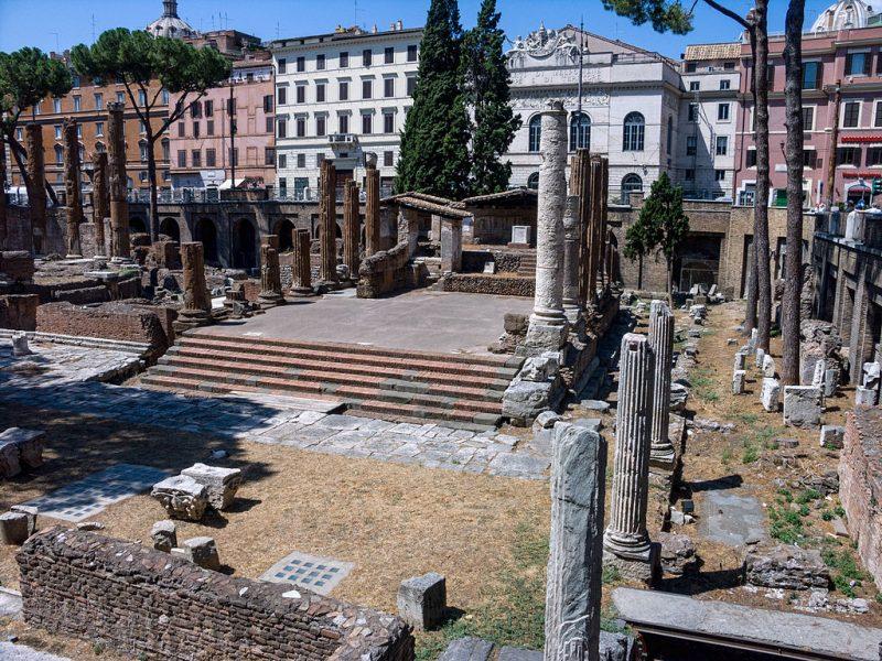 Bulgari soutient la rénovation du site archéologique d'Area Sacra à Rome
