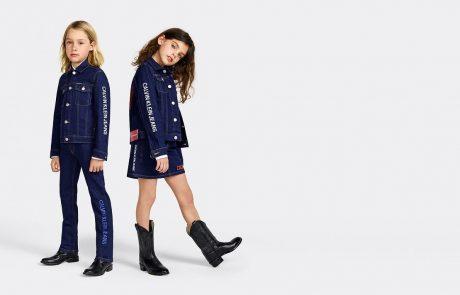 Calvin Klein Jeans investit sur le marché enfant