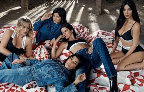 Les sœurs Kardashian, nouvelles égéries Calvin Klein