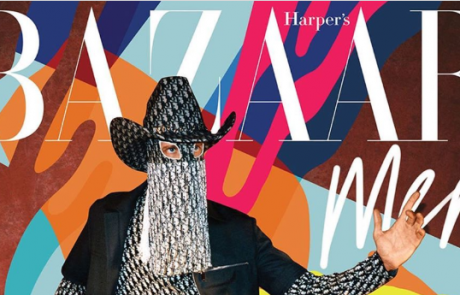 Kim Jones invité d'Harper's Bazaar Men
