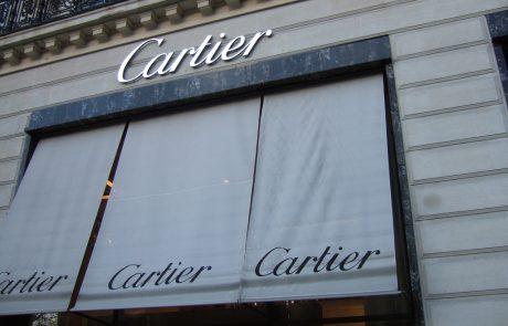 Cartier se lance sur le service Tmall d'Ali Baba