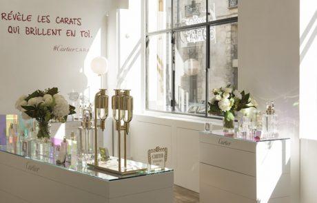 Cartier ouvre un pop-up store dans le Marais