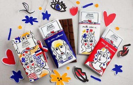 Castelbajac Paris lance sa première collection de chocolats
