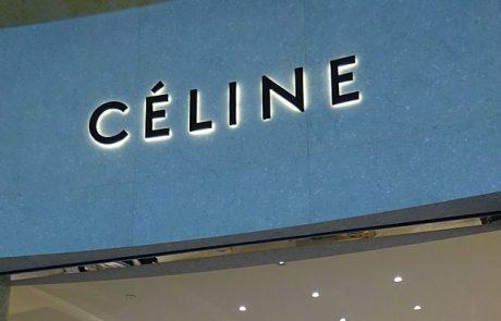 Celine installe une nouvelle boutique à Paris