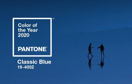 Classic Blue : 2020 a déjà sa couleur