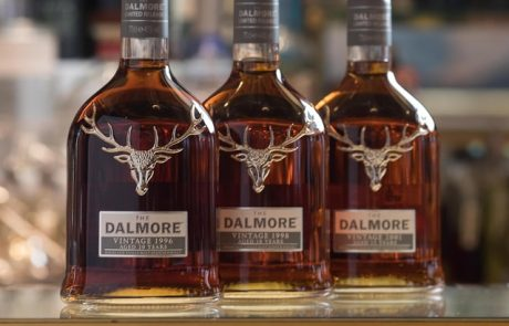 Whiskies Dalmore : une vente exclusive pour le 1e avril
