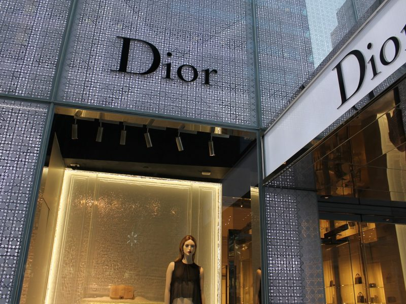 Dior dévoile son nouveau site internet