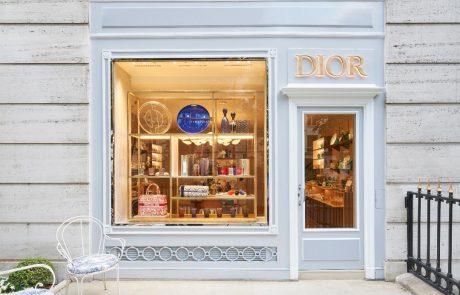 Dior ouvre sa 1e boutique art de vivre