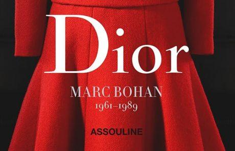 Marc Bohan chez Dior, le livre rétrospective