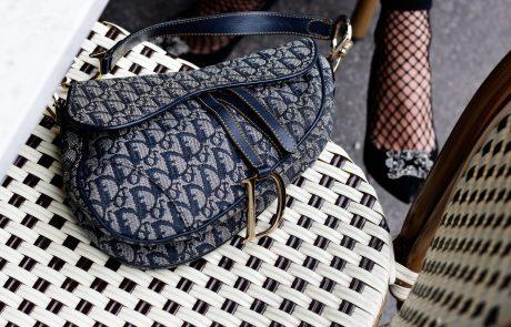 Chez Dior, le célèbre sac «Selle» signe son retour