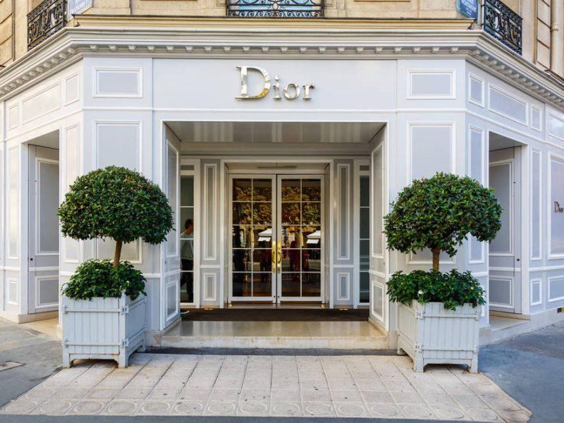 Dior va tripler la surface de sa boutique historique