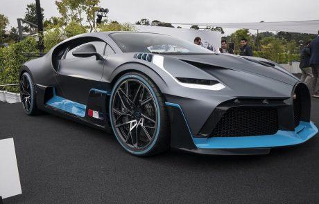 Bugatti : la voiture Divo est dotée de pièces imprimées en 3D