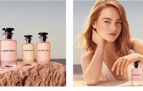 Emma Stone, égérie du nouveau parfum Vuitton