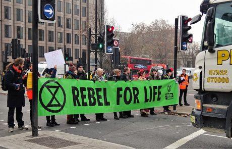 Stella McCartney et Extinction Rebellion luttent contre le changement climatique