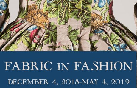 L'exposition Fabric in Fashion s'installe à New-York