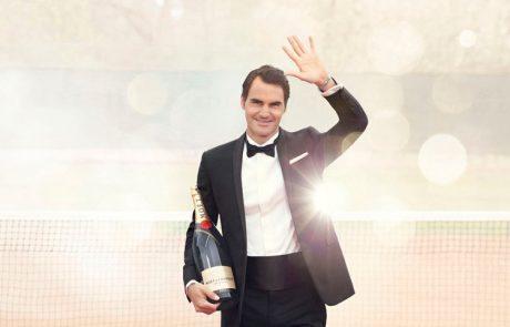 Moët & Chandon : une cuvée en l'honneur de Roger Federer