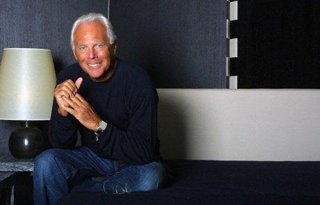Giorgio Armani lance une ligne de haute joaillerie