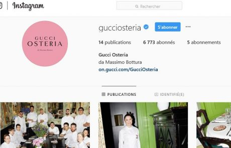 Gucci poursuit son offensive média sur Instagram