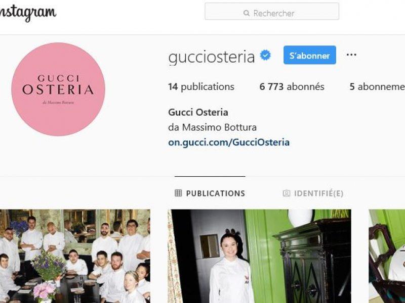 Gucci poursuit son offensive média sur Instagram