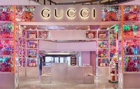 Gucci Pin : Gucci réinvente le retail