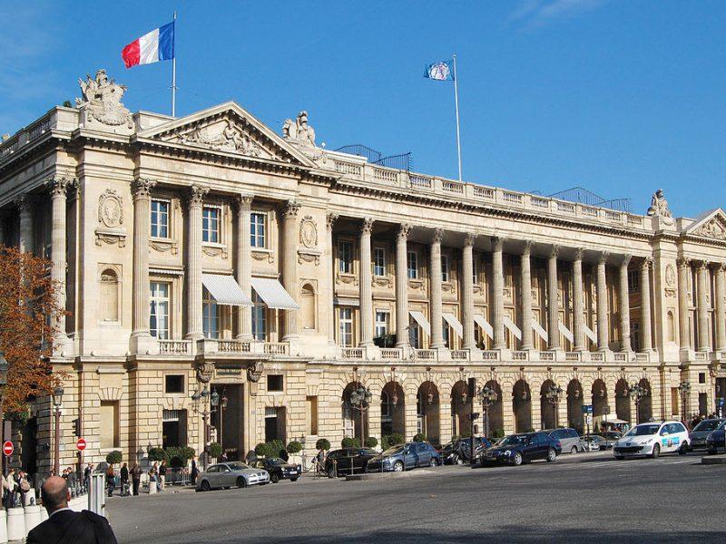 Le chef Christopher Hache annonce son départ de l'hôtel de Crillon
