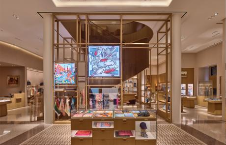 Réouverture du magasin Hermès de San Francisco