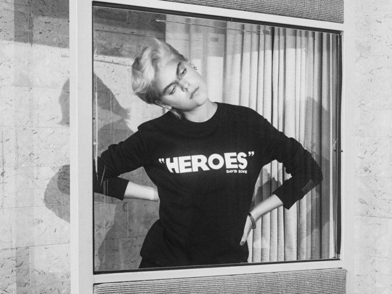 Une collection David Bowie pour Hugo Boss