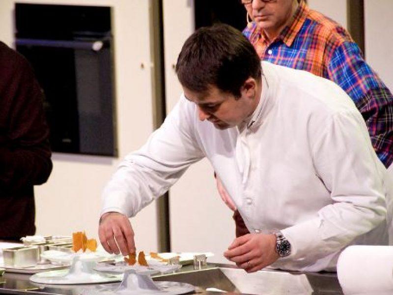 Jean-François Piège inaugure son restaurant Clover Gordes