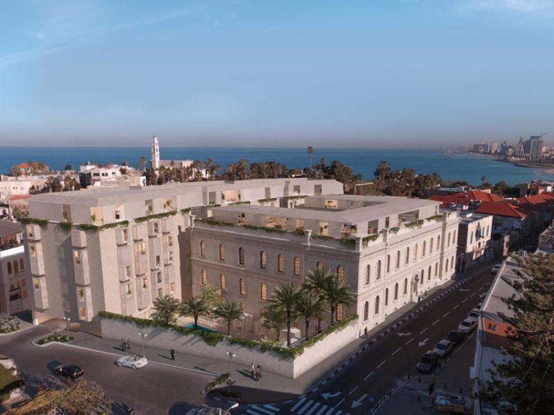 The Jaffa : un ancien hôpital devient hôtel de luxe