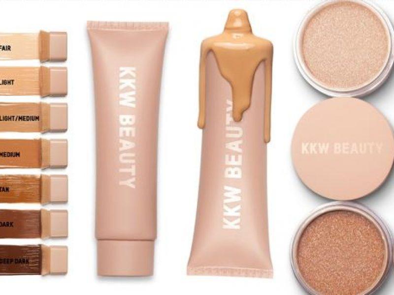 Kim Kardashian lance une gamme de maquillage pour le corps