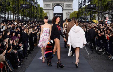Les marques de cosmétique s'invitent dans la Fashion Week