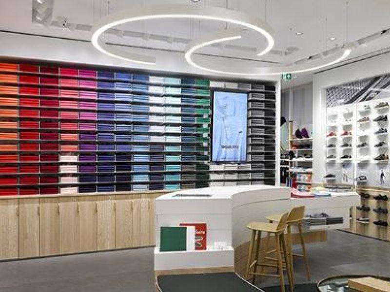 Nouveau concept de magasin Lacoste